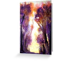 Tree Harmony Greeting Card