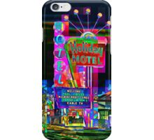 Las Vegas Motel - City Mosaics Series iPhone Case/Skin
