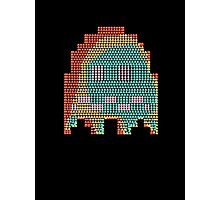 Scared Pac-Man Ghost Photographic Print