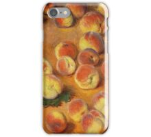 Claude Monet - Peaches iPhone Case/Skin