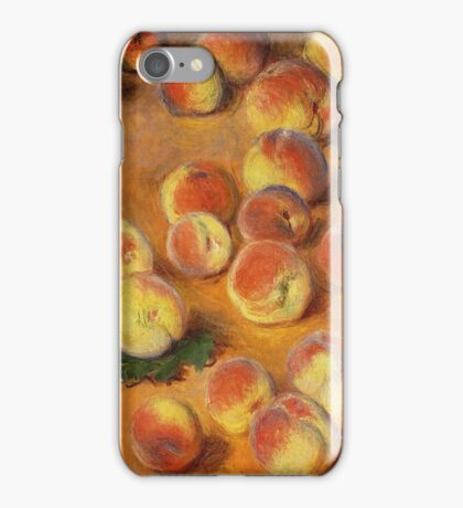 Claude Monet - Peaches iPhone Case/Skin