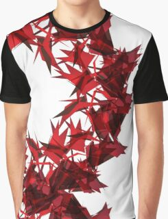 Abstract triangular background on white. Graphic T-Shirt