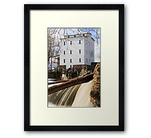 Mansfield Roller Mill in Indiana Framed Print