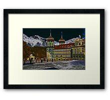 Stams Monastery Impression, Tyrol, Austria Framed Print