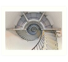 Going Up - Lighthouse Interior Art Print