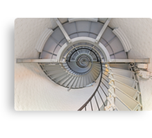 Going Up - Lighthouse Interior Canvas Print