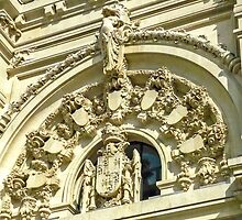 Madrid - Door Relief  by Michelle Falcony