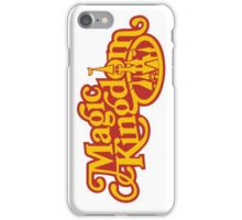Magic Kingdom Logo iPhone Case/Skin