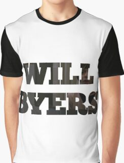 STRANGER THINGS WILL Graphic T-Shirt
