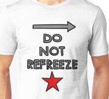 Warning: Bucky Barnes Unisex T-Shirt
