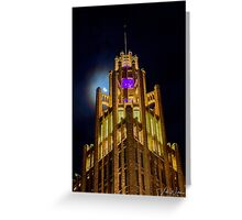 Manchester Unity Building, Melbourne, Victoria, Australia Greeting Card