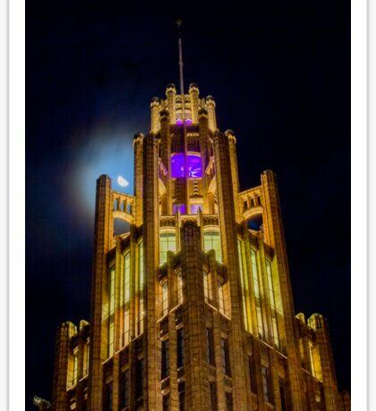 Manchester Unity Building, Melbourne, Victoria, Australia Sticker