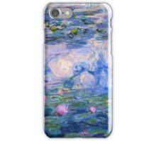 Claude Monet - Water Lilies 1919 iPhone Case/Skin