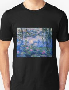 Claude Monet - Water Lilies 1919 Unisex T-Shirt