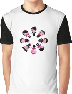 Cute retro emo kids group Graphic T-Shirt