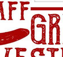 Great Western Staff Sticker