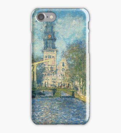 Claude Monet - Zuiderkerk In Amsterdam iPhone Case/Skin