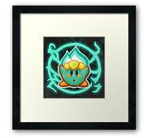 Kirby Plasma Framed Print
