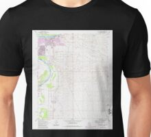USGS TOPO Map Arizona AZ Davis Dam SE 311096 1970 24000 Unisex T-Shirt