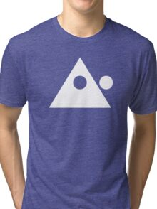 The Logo (White) Tri-blend T-Shirt