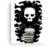 Coffee in the Mourning Canvas Print