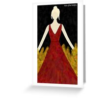 Aelin of the Wildfire Greeting Card