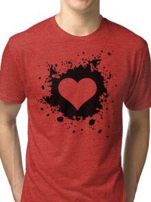 Template heart Tri-blend T-Shirt