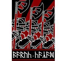 Dwarven Constructivist Poster - Baruk Kazâd! Photographic Print