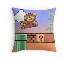 NES Mario Throw Pillow