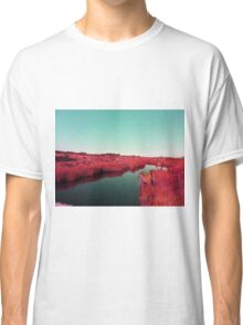 Madagascan River in Red Classic T-Shirt