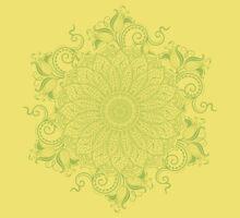 Mandala - Pink Lemon Kids Tee
