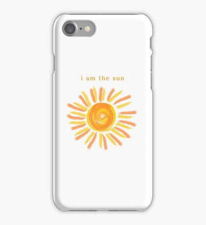 I AM THE SUN - MEREDITH GREY iPhone Case/Skin
