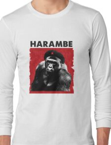 Harambe x Che Guevara Long Sleeve T-Shirt