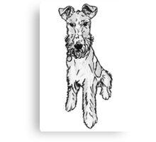 Terrier Canvas Print