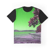 Manafiafy in Green Graphic T-Shirt