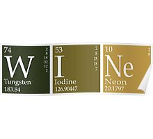 Wine Periodic Table Poster