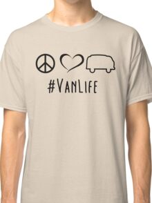 Peace, love and vanlife Classic T-Shirt