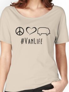 Peace, love and vanlife Women's Relaxed Fit T-Shirt