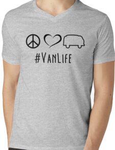 Peace, love and vanlife Mens V-Neck T-Shirt