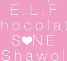 SM Entertainment Fandoms Sticker