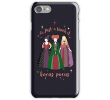 Hocus Pocus with Text iPhone Case/Skin