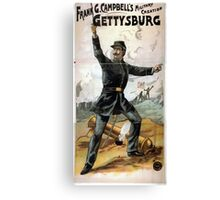 Performing Arts Posters Frank G Campbells military creation Gettysburg 1914 Canvas Print