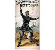 Performing Arts Posters Frank G Campbells military creation Gettysburg 1914 Photographic Print