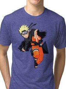 //N.A.R.U.T.O// Tri-blend T-Shirt