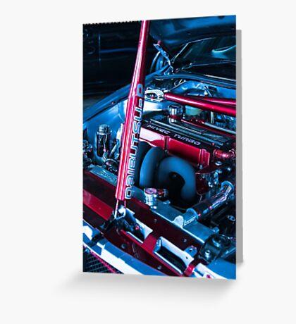 Evo engine Greeting Card