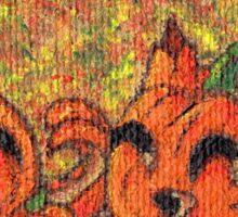 Pumpkin Buddies Sticker