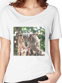 Curious Owl Women's Relaxed Fit T-Shirt