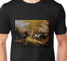 Headless Horseman Chasing Ichabod Crane Unisex T-Shirt