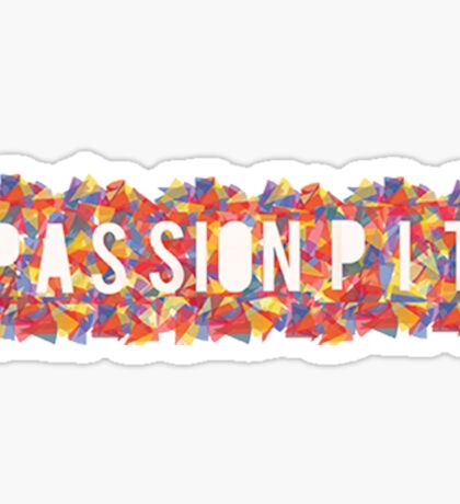 passion pit Sticker