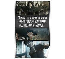 Levi - No Regrets Poster
